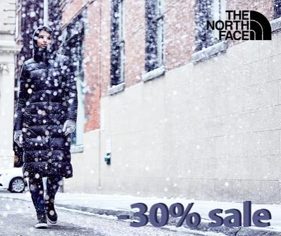 намаление 30% в The North Face
