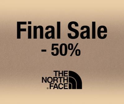 50% намаление на всички прдодукти на марката The North Face