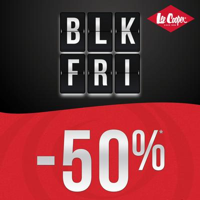"Lee Cooper стартира ""Black Friday -50%"""