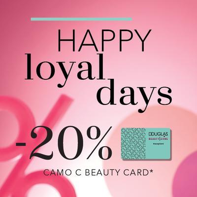 HAPPY LOYAL DAYS в парфюмерии DOUGLAS&BEAUTY|ZONE