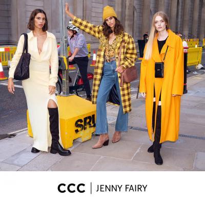 Заложете на сигурно с модел от колекция есен-зима 2020 на Jenny Fairy в магазнини ССС.