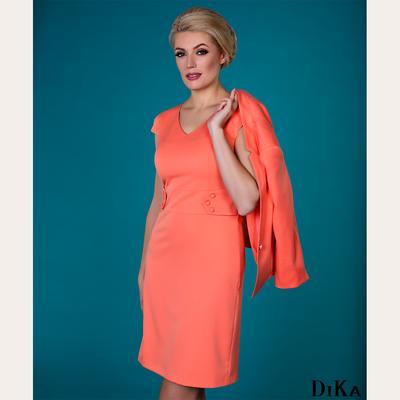 Водещият цвят в новата колекция на DiKa е кораловото.