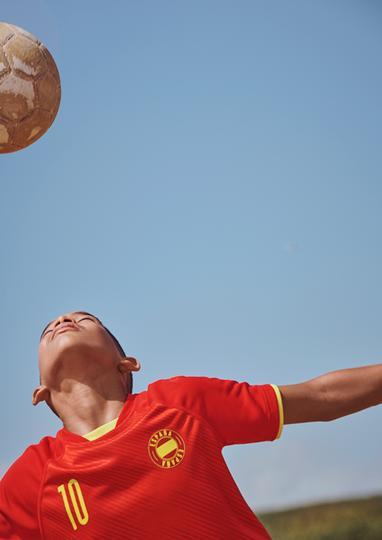 Футболни тениски за децата и бъдещето им!