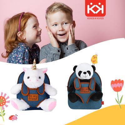 Представяме ви новите ни весели детски ранички от Колев&Колев !